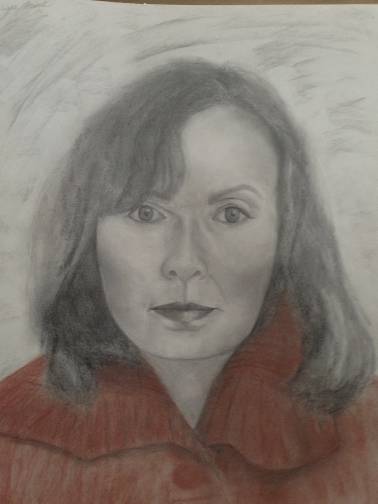 Diane Atwood self-portrait December, 2014