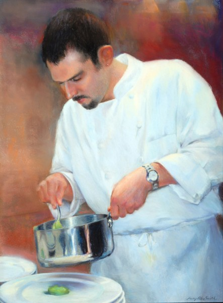 Pastel of chef