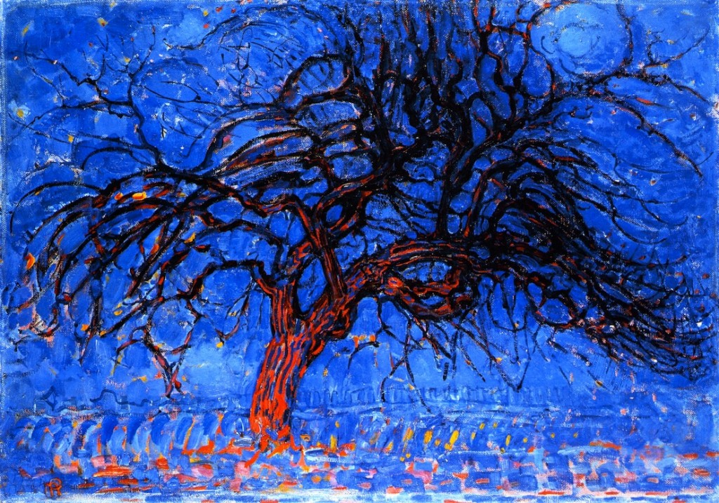 """Red Tree"" by Mondrian"