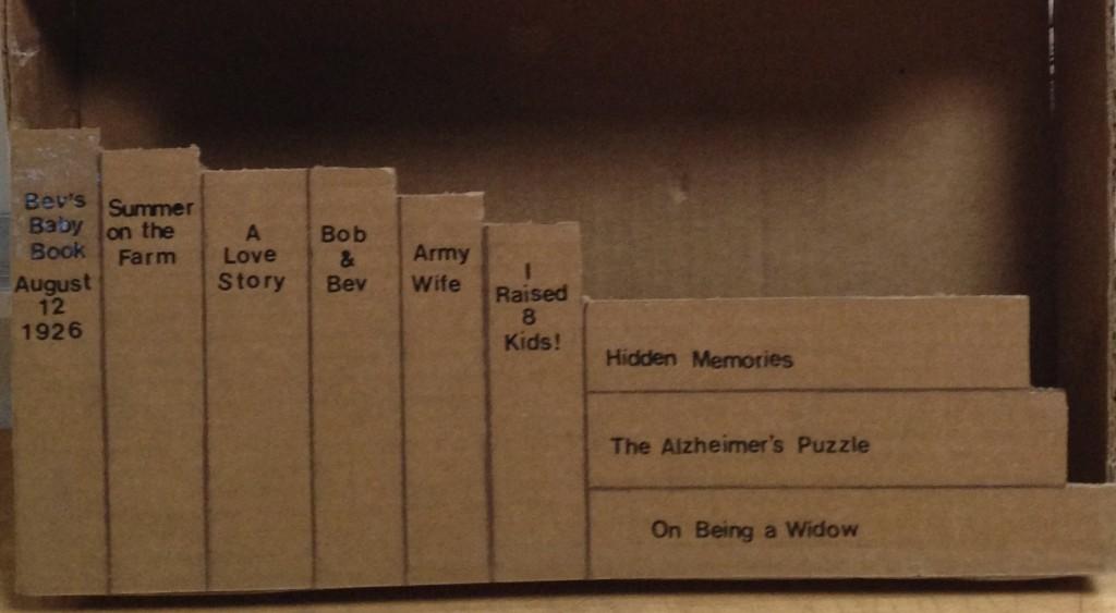 Bookcase, bottom shelf