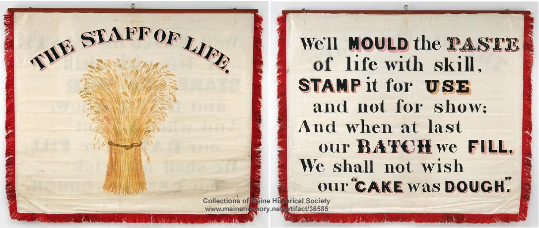 Staff of Life Banner